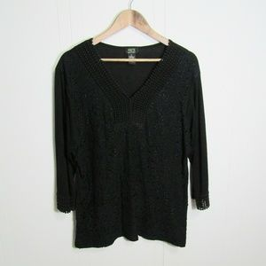 Shannon Ford New York women's plus size 1X blouse